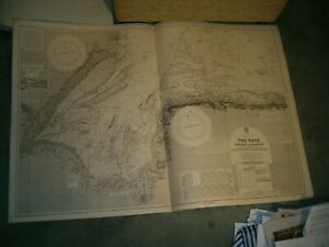 Vintage Admiralty Chart 108 UK - THE WASH - SKEGNESS to BLAKENEY 1935 edn