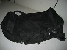 Used Under water Scuba Dive Bag, net, 24x15x15, drawstring close, shoulder strap