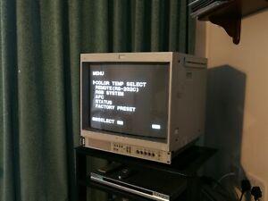 "Sony Trinitron PVM-20M7MDE Video Color Monitor 20"" - Retro Gaming Monitor"