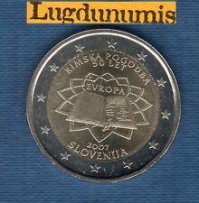 2 Euro Commémo Slovénie 2007 Traité de Rome Slovenia