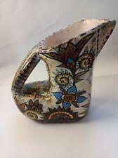 Pichet Inhabituel céramique de Quimper Fouillen