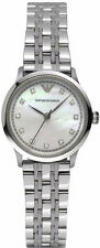 Emporio Armani Classic Watch Silver/Mother Of Pearl Quartz Women's AR1803