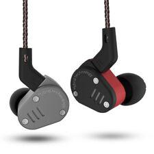 KZ ZSA Armature +Dynamic Hybrid In Ear Earphone DJ Monito Running Sport Earbuds