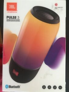 JBL Pulse 3 Wireless Portable Bluetooth Speaker - Black