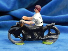 JOUET / Toy - FIGURINE PLOMB / Lead - TOUR DE FRANCE - MOTARD / Motorcyclist