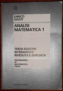 Analisi Matematica 1 - Enrico Giusti