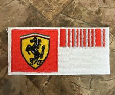 RARE Official Ferrari F1 Barcode Uniform Patch - Michael Schumacher & Massa