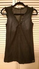 Calvin Klein Girls Denim Dress - Size 14