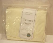 American Baby Company Bassinet Sheet 100% Cotton Knitted Jersey - Off White