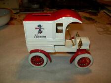 "Ertl #1330 1:25 ""Hanson"" 1905 Ford Delivery Car Bank NOS"