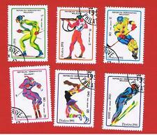 Malagasy #1037-1042  VF used  Olympics  Free S/H
