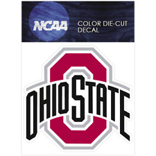 Ohio State Logo NCAA Die Cut Vinyl Car Sticker Bumper Window