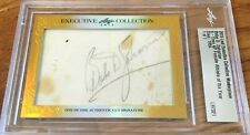 Babe Didrikson Zaharias 2015 Leaf Masterpiece cut signature signed card 1/1 PSA