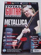TOTAL GUITAR MAGAZINE Autumn 1999 Metallica Van Halen Guns n' Roses RHCP