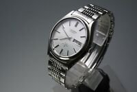 Vintage 1975 JAPAN SEIKO LORD MATIC WEEKDATER 5606-8051 23Jewels Automatic.