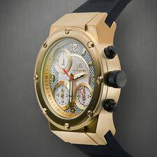Buech & Boilat Swiss Chronograph Bastone Mens Watch / MSRP $1,285.00
