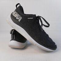 Hoka One One Hupana 2 Mens Sz 8.5  Black / White Running Training Shoes Athletic