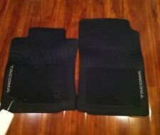 2005-2006-2007 Toyota Tacoma All Weather OEM 2 piece rubber floor mats