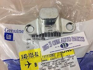 Chevrolet Silverado GMC Sierra LH Tailgate Lower OUTER BODY SIDE HINGE new OEM