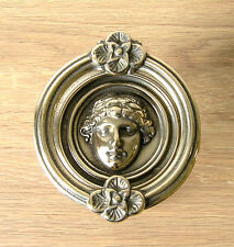 Italian Cast Brass Roman Design Door Knocker
