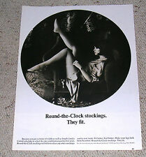 1964 Round-The-Clock Leg Stocking Ad.