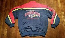 Jeff Gordon NASCAR Spell Out Du Pont Full Zip XL Jacket