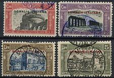 Somaliland italiano 1929 SG # 115-118, seconda la difesa nazionale, utilizzati Set #A 92238