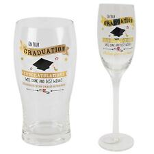 Vintage Signography Graduation Glass Gift Boxed