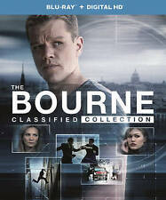 The Bourne Classified Collection (Blu-ray Disc, 2016, 5-Disc Set **NO UV CODE**