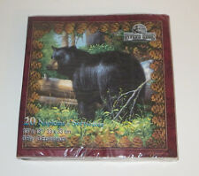 Bear Napkins Package of 20 Paper 3 Ply Wild Animals New Rivers Edge