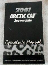 2001 Arctic Cat Snowmobile Manual