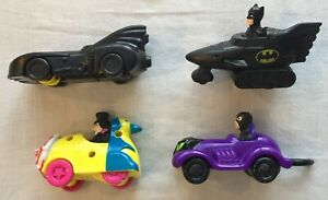 Batman Returns - Set of four McDonald's Happy Meal figures