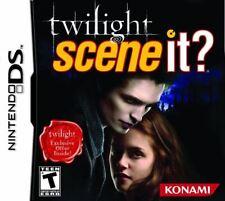 Scene It Twilight Movie Trivia Game DS/Lite/DSi/XL/3DS NEW