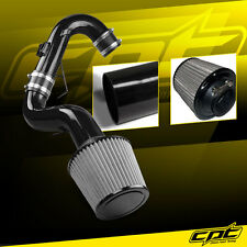 For 11-16 Scion tC 2.5L 4cyl Black Cold Air Intake + Stainless Steel Air Filter