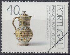 Specimen, Portugal Sc1892 Portuguese Ceramic, Pitcher with Lid