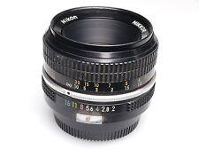 Nikon Nikkor 50mm f/2 non-ai