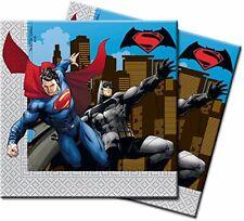 Unique Party Batman V Superman pour enfants officiel fête Serviettes de papier