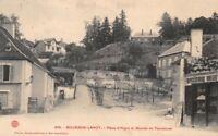 BOURBON-LANCY - Place d'Aligre et montée du tourniquet