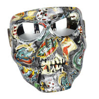 Motorcycle Goggles Mask Outdoor Riding Motocross Skulls Sandproof Glasses