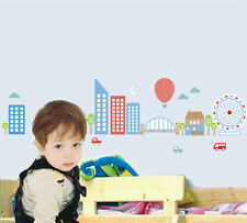 Kids Removable Vinyl Wall Stickers for Boy -- Metro City
