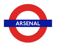 TFL™5113 Licensed Arsenal Roundel™ Vinyl Sticker