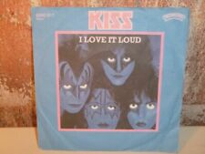 "KISS I Love it Loud / Killer 7"" SINGLE Vinyl NM-  CASABLANCA 6000 911"