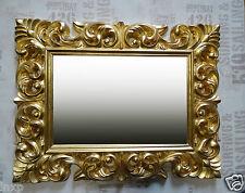 Wandspiegel ANTIK BAROCK ROKOKO 90X70 in GOLD Florenza UVP 499€ Spiegel  WOE