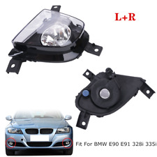 Front Bumper Replace Clear Fog Lights Fit For BMW E90 E91 328i 335i 4D 09-11 L+R