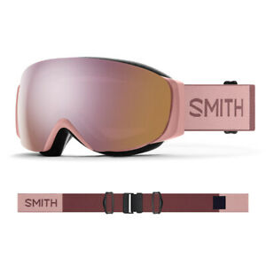 2021 Smith I/O MAG S Asian Fit Goggle-Rock Salt/Tanin w/ CP Everyday Rose Gold