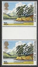 GB Stamps 1981, National Trust for Scotland, 18p MNH Gutter Pair, S/G 1156