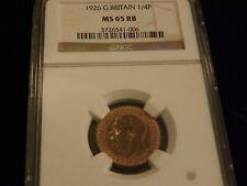 1926      1/4 P    Great Britain       NGC MS 65 RB