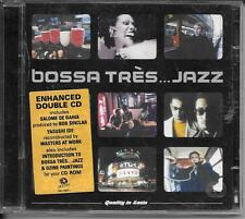 2 CD COMPIL 23 TITRES--BOSSA TRES JAZZ--DE BAHIA/IDE/AT WORK/PAINTINGS
