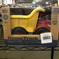 Green Toys Dump Truck in Yellow and Red - BPA Free, Phthalates Free Play Toys