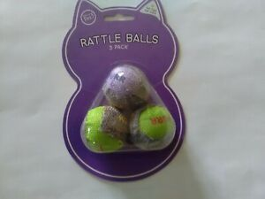 Cat toys Rattle Balls Three balls in pack